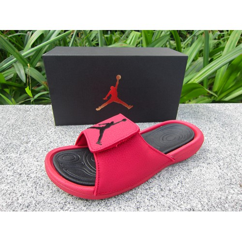 Hot sell Jordan Hydro 6 Sandals Gym Red