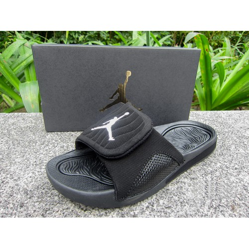 huge selection of 336ad 94b26 cheap 2018 Women Jordan Hydro 5 Retro Sandals All Black Sale ...