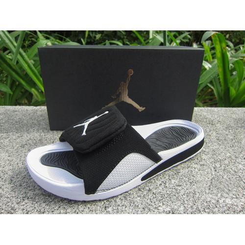 bc44425bc1c -56 % Cheap Jordan Sandals - 2018 Women Jordan Hydro 5 Retro Sandals White  Black