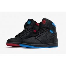 "Air Jordan 1 Retro High OG ""Quai 54"" Black/University Red/Game Royal"