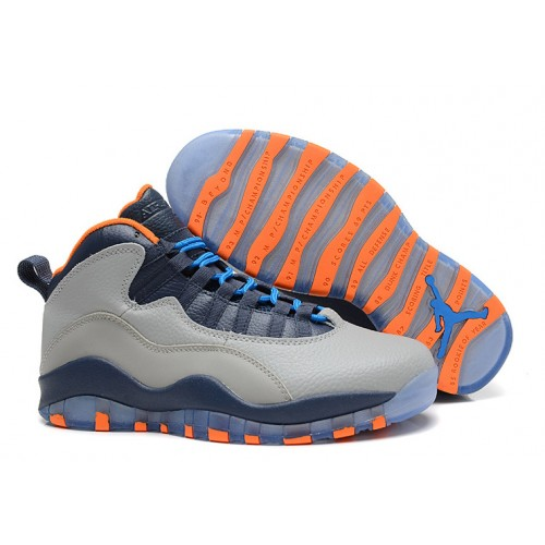 detailed look 9f18d 4645b -50 % Air Jordan Retro 10 - New Air Jordan 10 Retro Bobcats Wolf Grey New  Slate