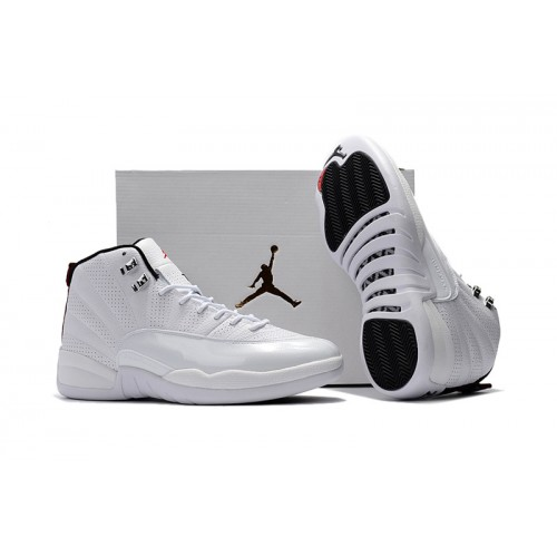 bdd9a4c7087f04 ... Air Jordan 12 Retro - 2017 Air Jordan 12 Retro Rising Sun All White  Varsity ...