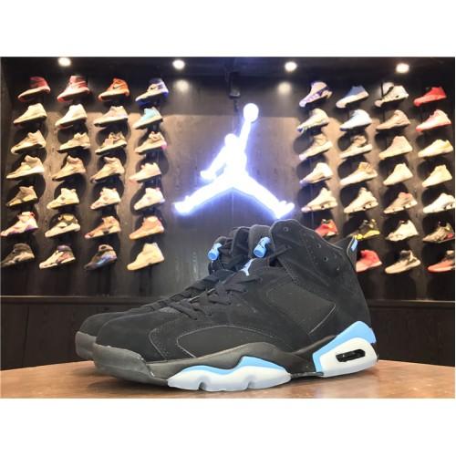 5fc1bb01577928 ... Air Jordan 6 Retro - 2017 Air Jordan 6s Retro UNC Black University Blue  384664